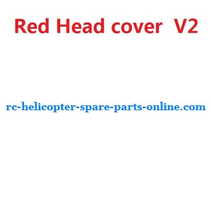 UDI U23 helicopter spare parts head cover (Red V2)