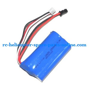 UDI U23 helicopter spare parts battery 7.4V 1500mAh SM plug