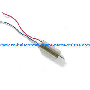 UDI RC U27 quadcopter spare parts main motor (Red-Blue wire)