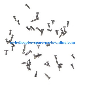 UDI RC U6 helicopter spare parts screws set