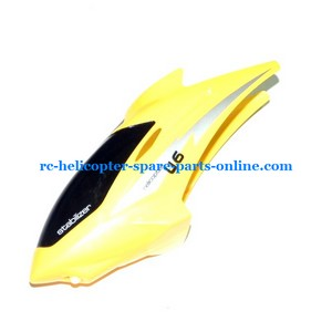 UDI RC U6 helicopter spare parts head cover yellow color