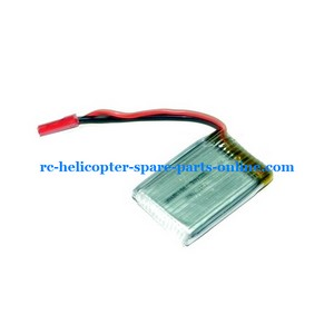 UDI RC U6 helicopter spare parts battery 3.7V 580MaH