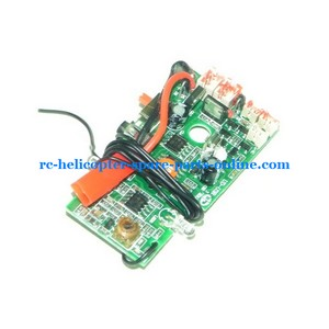 UDI RC U6 helicopter spare parts PCB board frequency: 27Mhz