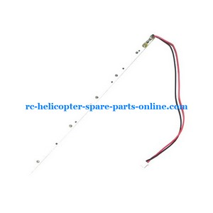 UDI RC U6 helicopter spare parts tail LED bar
