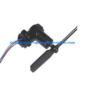 UDI RC U6 helicopter spare parts tail blade + tail motor + tail motor deck (set)