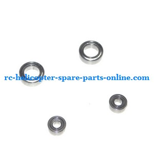 UDI U7 helicopter spare parts bearing set 2x big + 2x small (set)