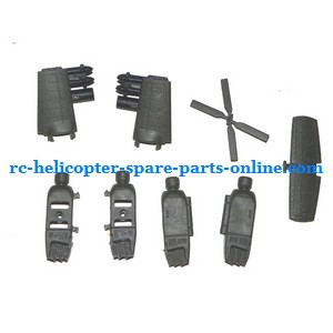 UDI U803 helicopter spare parts decorative set