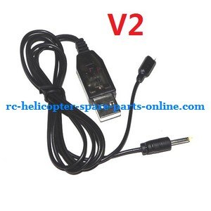 UDI U810 U810A helicopter spare parts USB charger wire (V2)