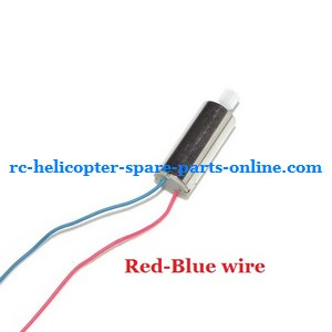 UDI RC U818A U817 U817A U817C UFO spare parts main motor Red-Blue wire