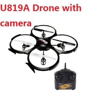 UDI U819A RC Quadcopter with 0.3MP camera