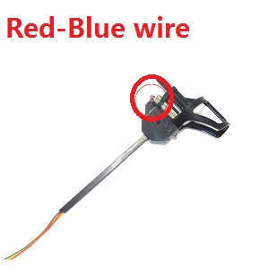 UDI U819A U819 RC Quadcopter spare parts main motor + main gear + motor deck + side bar (Red-Blue motor wire)