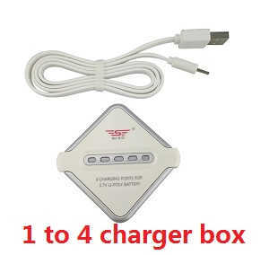 UDI U819A U819 RC Quadcopter spare parts 1 to 4 charger box set
