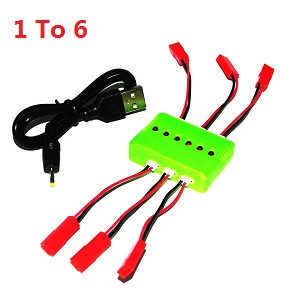 UDI U819A U819 RC Quadcopter spare parts 1 to 6 charger box set