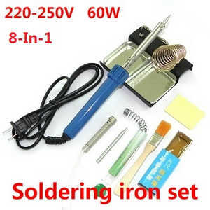 UDI U819A U819 RC Quadcopter spare parts 8-In-1 Voltage 220-250V 60W soldering iron set
