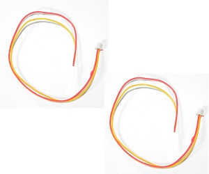 UDI U819A U819 RC Quadcopter spare parts LED lamp wire plug 2pcs
