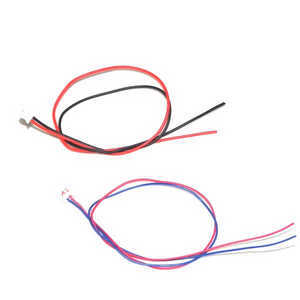 UDI U819A U819 RC Quadcopter spare parts motor plug wire 2pcs
