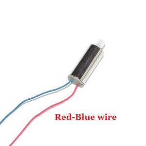UDI U819A U819 RC Quadcopter spare parts main motor (Red-Blue wire)