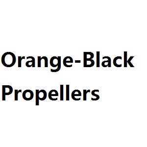 UDI RC U842 U842-1 U842 WIFI U818S U818SW quadcopter spare parts main baldes propellers (Orange-Black)