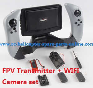 UDI RC U842 U842-1 U842 WIFI U818S U818SW quadcopter spare parts FPV transmitter + WIFI camera set