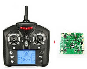 Wltoys WL V323 quadcopter spare parts PCB board + Transmitter