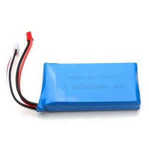 Wltoys WL V323 quadcopter spare parts battery 7.4V 2800mAh