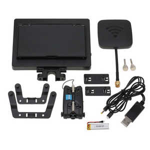 Wltoys WL V323 quadcopter spare parts 5.8G FPV monitor + camera set