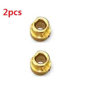 Wltoys WL V323 quadcopter spare parts copper sleeve 2pcs