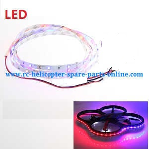 Wltoys WL V656 V666 quadcopter spare parts LED belt set