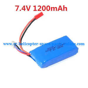 Wltoys WL V656 V666 quadcopter spare parts battery (7.4V 1200mAh)