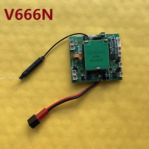Wltoys WL V666N quadcopter spare parts receive PCB board (V666N)