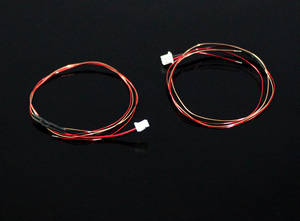 Wltoys WL V911S RC Helicopter spare parts connect wire plug for the tail motor 2pcs