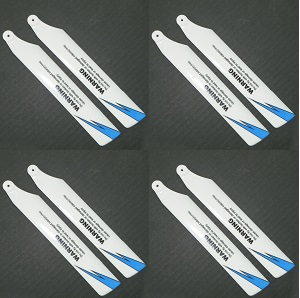 Wltoys WL V911S RC Helicopter spare parts main blades (White-Blue) 8pcs