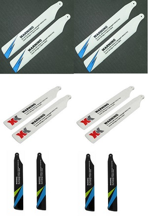 Wltoys WL V911S RC Helicopter spare parts main blades 12pcs