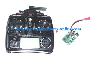 WLTOYS WL v912 helicopter spare parts transmitter + PCB board (set)