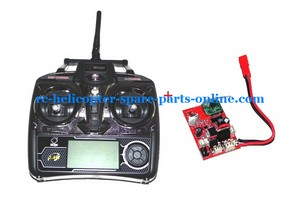 WLTOYS WL V913 helicopter spare parts transmitter + PCB BOARD