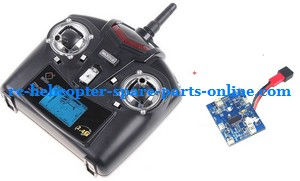 WLtoys WL V929 spare parts transmitter + PCB board (set)