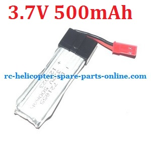 WLtoys WL V929 spare parts battery 3.7V 500Mah JST plug