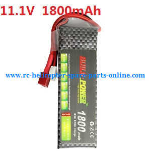 Wltoys WL V950 RC helicopter spare parts battery (11.1V 1800mAh)