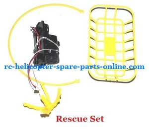 WL V262 quard copter spare parts rescue set