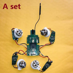 Syma W1 W1pro RC quadcopter spare parts brushless motors with ESC and PCB receive board (Assembled)