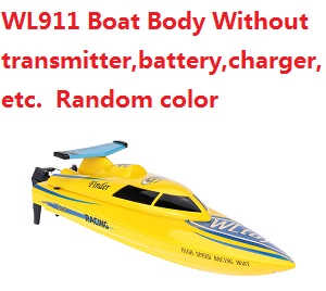 Wltoys WL WL911 Boat Body without transmitter,battery,charger,etc. (Random color)
