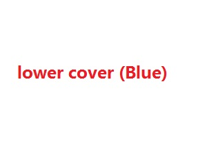 Wltoys WL WL911 RC Speed Boat spare parts lower cover (Blue)