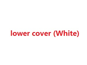 Wltoys WL WL911 RC Speed Boat spare parts lower cover (White)