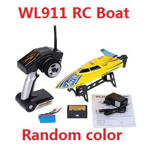 Wltoys WL WL911 RC Speed Boat (Random color)