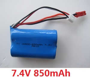 Wltoys WL WL911 RC Speed Boat spare parts battery 7.4V 850mAh