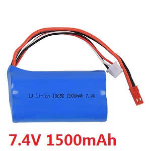 Wltoys WL WL911 RC Speed Boat spare parts battery 7.4V 1500mAh