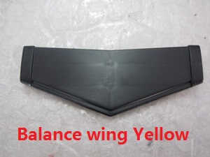 Wltoys WL WL912 RC Speed Boat spare parts balance wing (Yellow)