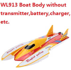 Wltoys WL WL913 Boat Body without transmitter,battery,charger,etc.