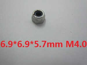 Wltoys WL WL913 RC Speed Boat spare parts Locknut 6.9*6.9*5.7mm M4.0
