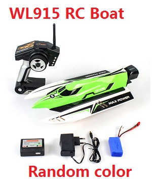 Wltoys WL WL915 RC Speed Boat (Random color)